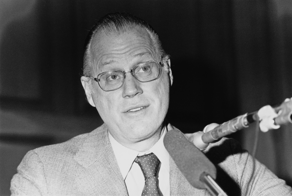 Major League Baseball commissioner Bowie Kuhn in 1978