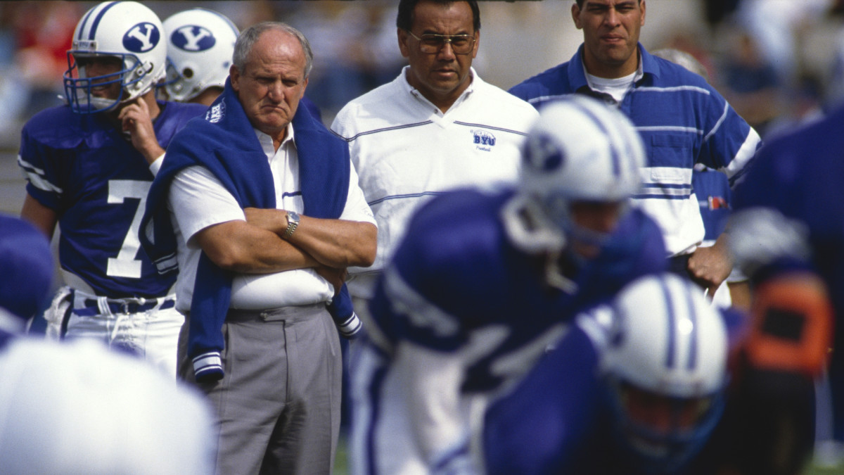 LaVell Edwards' passing attacks fueled Brigham Young.