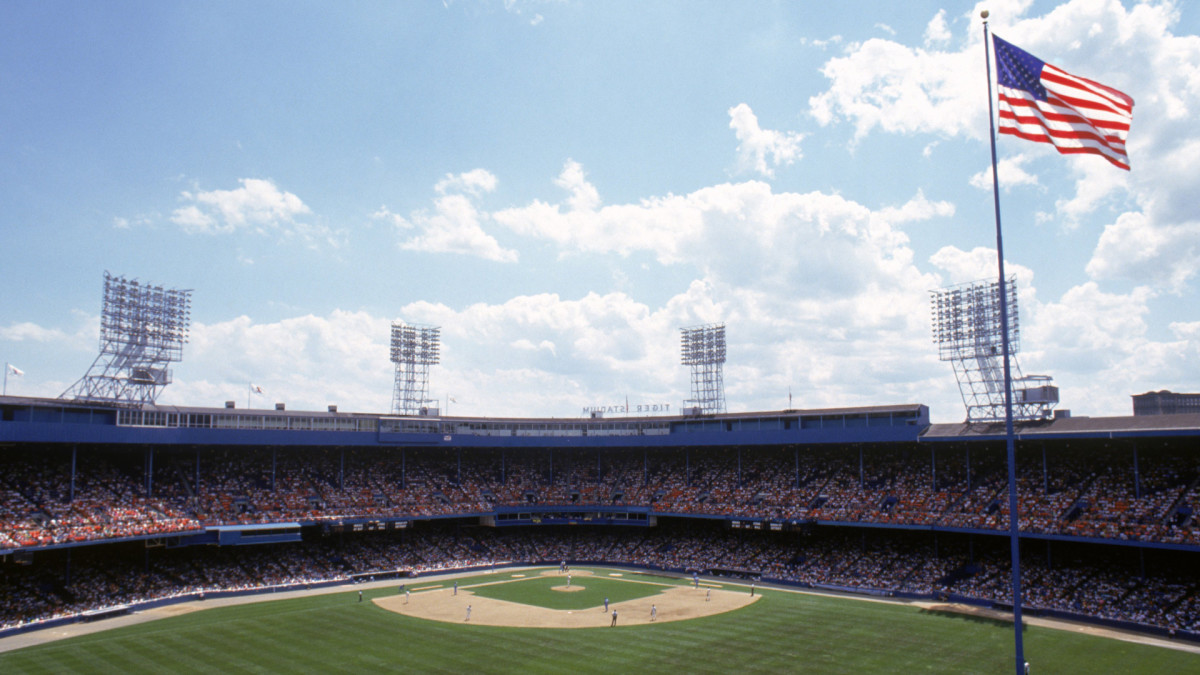 Tiger Stadium had many quirks, including a flagpole in center field, a few feet from the outfield wall.