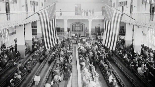Hurdles to Citizenship on Ellis Island