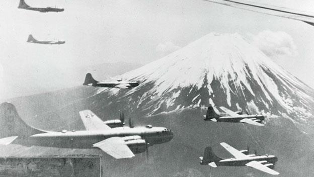 B-29 Raid Against Japan