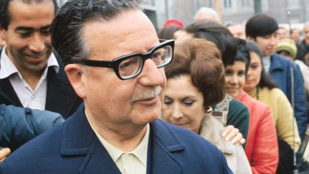 Chilean Leader Salvador Allende Denies Threat of Communism