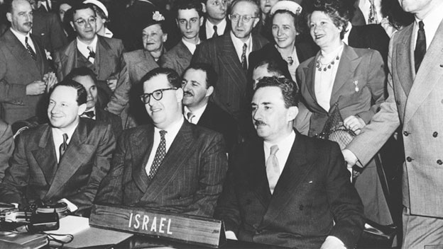 Israel Admitted to the United Nations