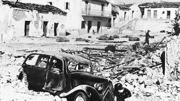France Bombs Tunisian Village During Algerian War
