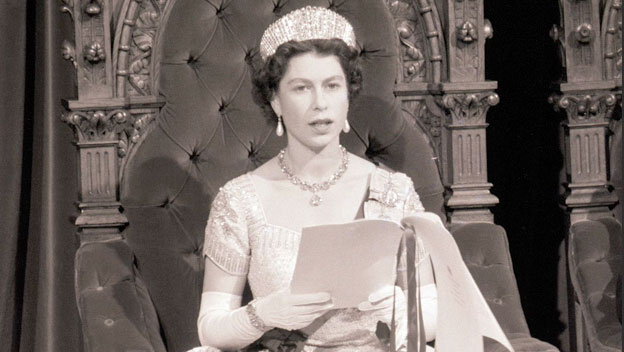 Queen Elizabeth II Broadcasts Christmas Message