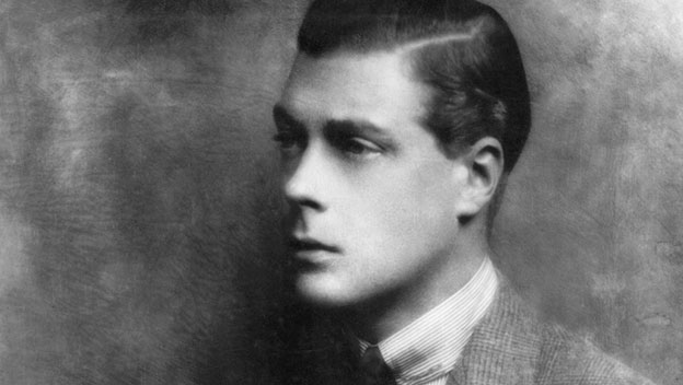 Britain's Prince Edward VIII on the Great Depression