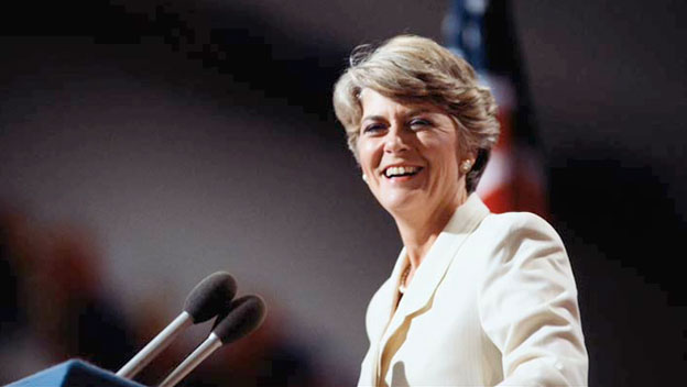 Geraldine Ferraro Joins the Democratic Ticket