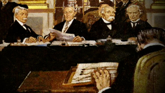 Treaty of Versailles Ends World War I