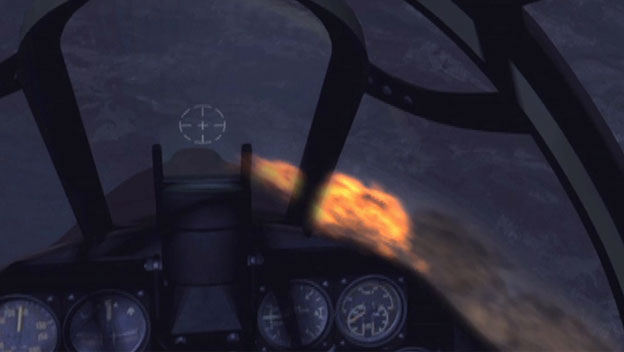 Flying Tiger Defeats Japanese Bombers in Night Run