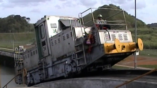 Panama Canal Trains