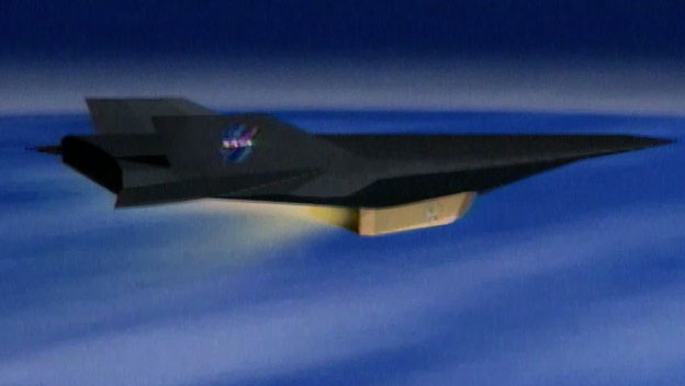 X-43 Flies at Edge of Space