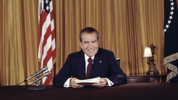 Nixon Denies Watergate Allegations