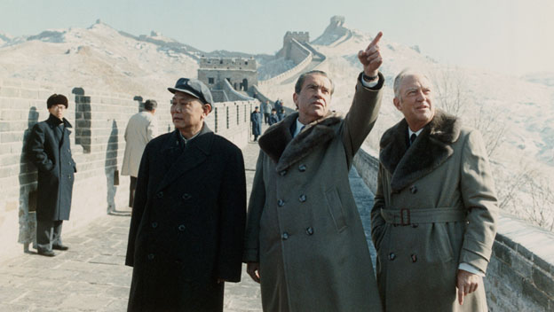Nixon Returns From China
