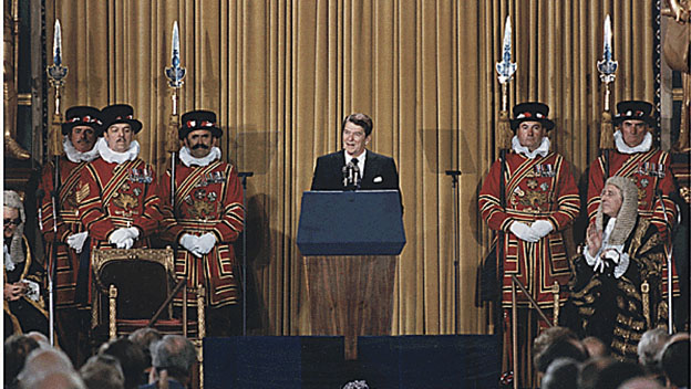 Reagan Addresses British Parliament