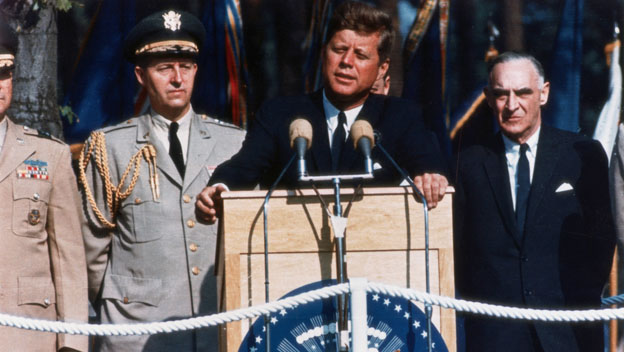 John F. Kennedy Rallies Hope for Berlin