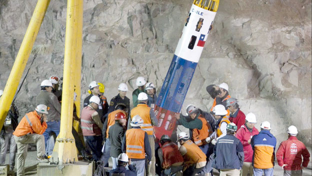 NASA Helps Design Rescue Capsule for Chilean Miners