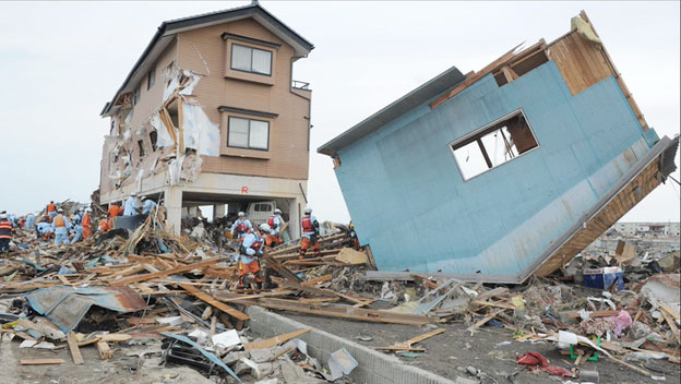 Major Earthquake and Tsunami Hit Japan