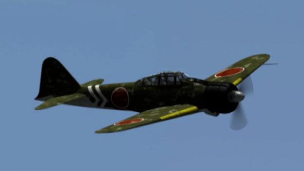 A6M Zero Fighter Plane