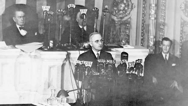 Truman's First Appearance as President