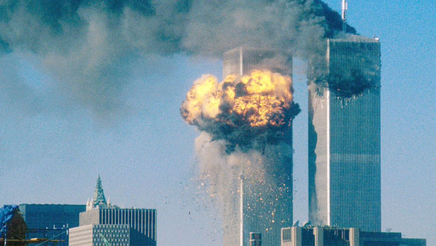 Second Plane Hits World Trade Center