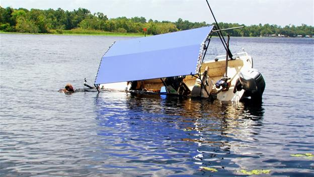 The Chapman Boat Starts to Sink