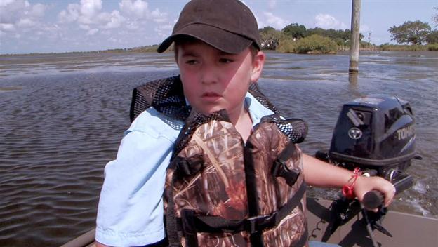 Liz's Boys Go Crabbing