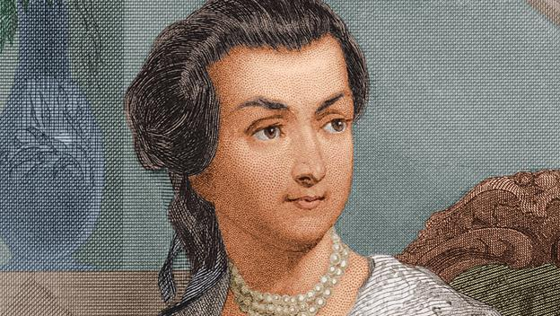 Romance of John and Abigail Adams
