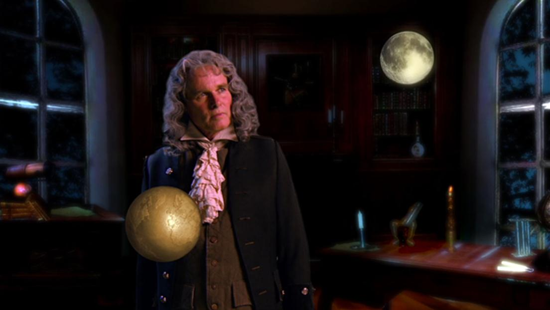 watch beyond the big bang sir isaac newton s law of gravity clip  the universe