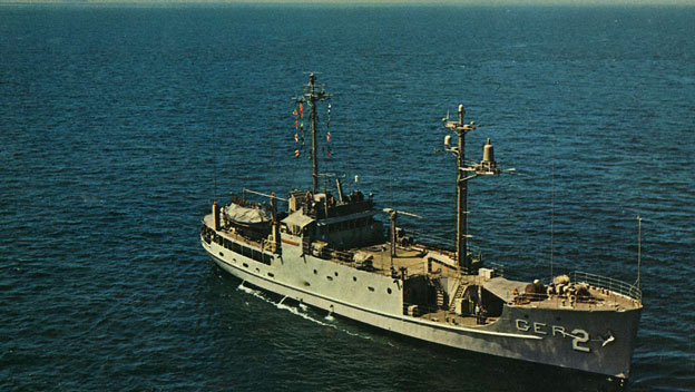 USS Pueblo Commander Released by North Korea