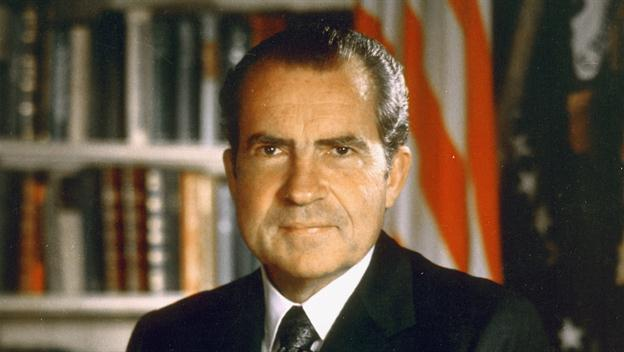 Nixon Announces His Resignation