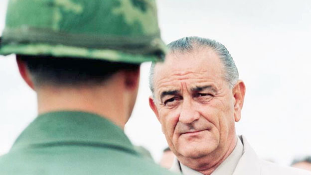 LBJ on Resumption of Air Strikes in North Vietnam