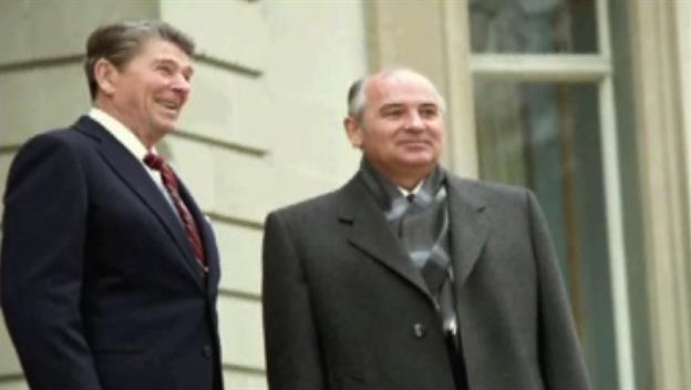 Reagan Meets Gorbachev
