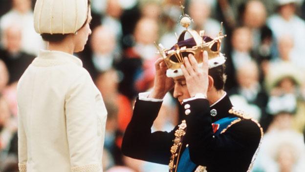 Prince Charles Becomes Prince of Wales