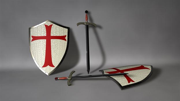 Knights Templar Defend Holy Land