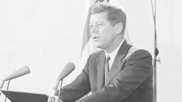 JFK Orders Resumption of Nuclear Tests
