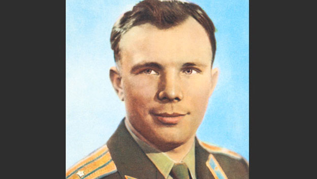 Yuri Gagarin Is First Man in Space