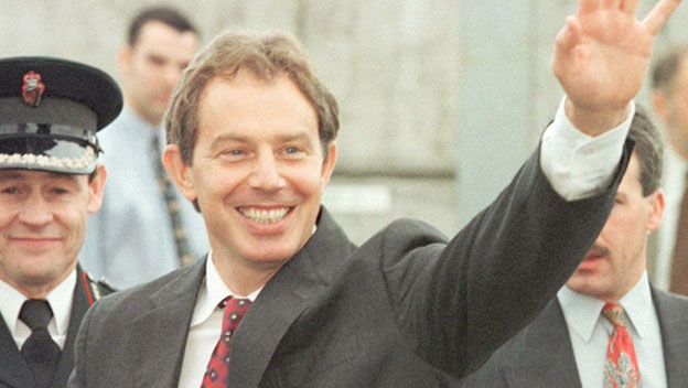 Tony Blair on Meeting Sinn Fein Leader Gerry Adams
