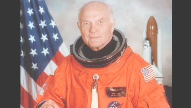 John Glenn Returns to Space