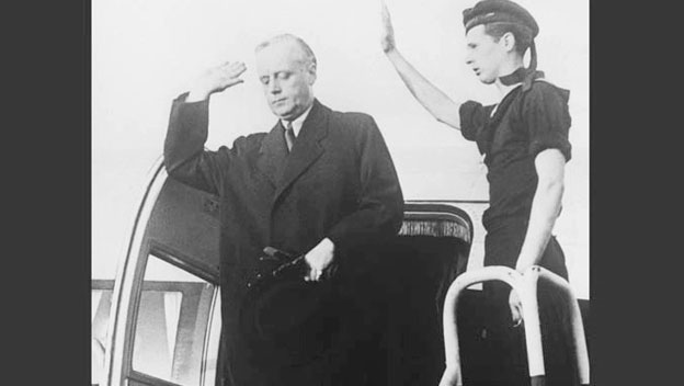 Von Ribbentrop Addresses the German People