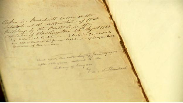 Accounts Receivable Book Seized During the War of 1812