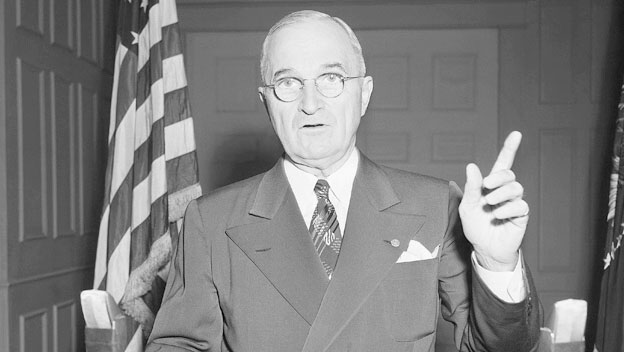 Truman Orders U.S. Forces to Fight in Korean War