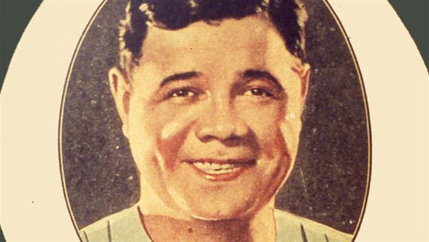 Babe Ruth Santa