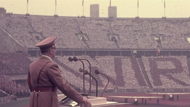 Hitler Plans the World's Largest Stadium