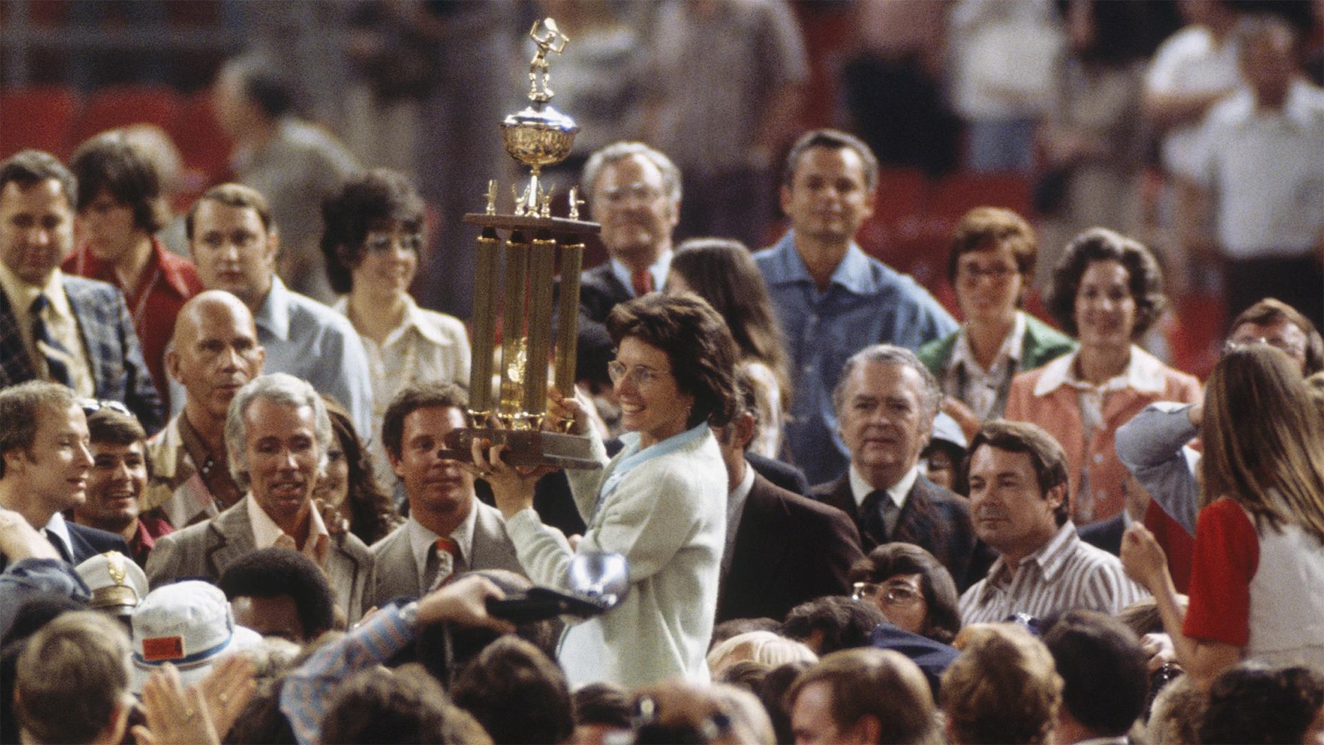 Billie Jean king trophy