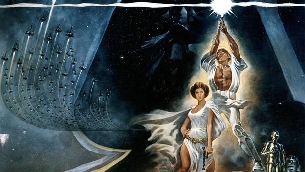 Star Wars opens
