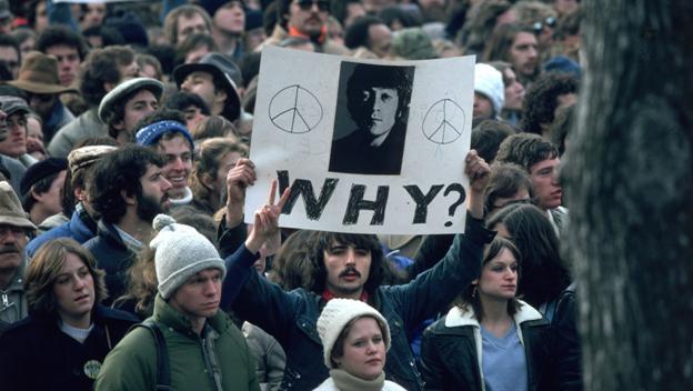 December 08 1980: John Lennon shot