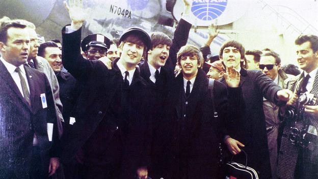 Image result for when did the beatles first arrived in america