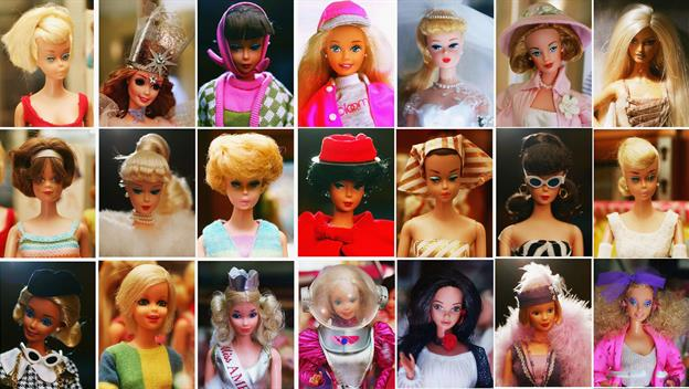 asstd barbie dolls