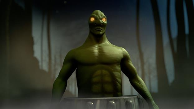 MonsterQuest: Lizard Monster