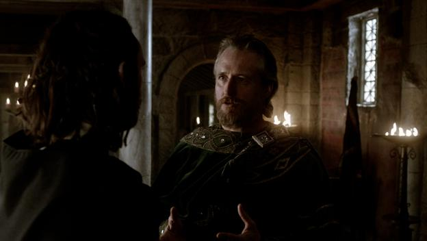 King Ecbert Discusses Paganism with Athelstan